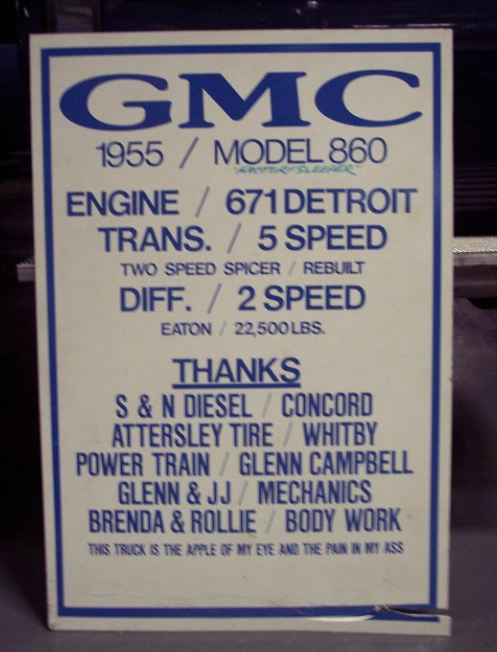 "Golden Age GMC 55 model 860 ""Cannonball"" Par Jeff Harper Jeff_h10"