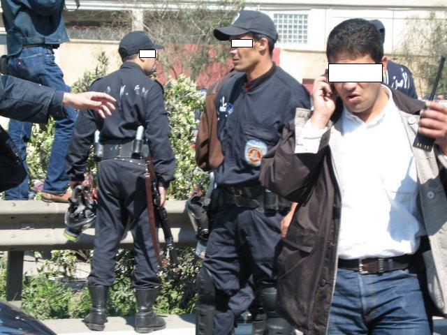 صور حصرية للشرطة Lundi218
