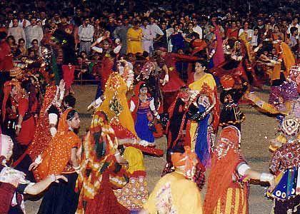 La fête de Cerf-Volant en Inde... Navrat10