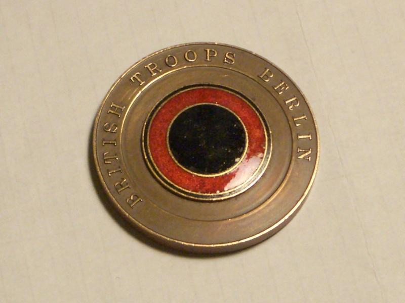 British Troops In Berlin - Bronze medallion 00310