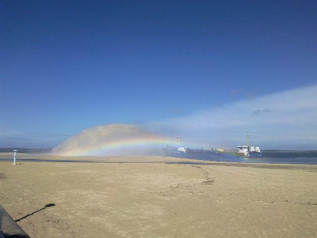 Arcachon le cracheur de sable  Photo010
