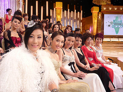 Pictures of Liza at TVB awards 2007 Route_10