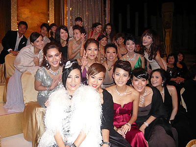 Pictures of Liza at TVB awards 2007 Route_11