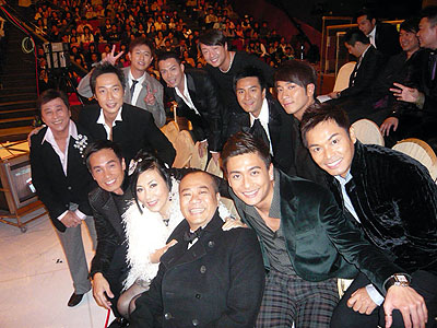 Pictures of Liza at TVB awards 2007 Route_12