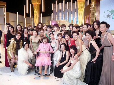 Pictures of Liza at TVB awards 2007 Route_15