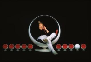 Fauteuil PASTILLE, Fauteuil très ergonomique Ball0210