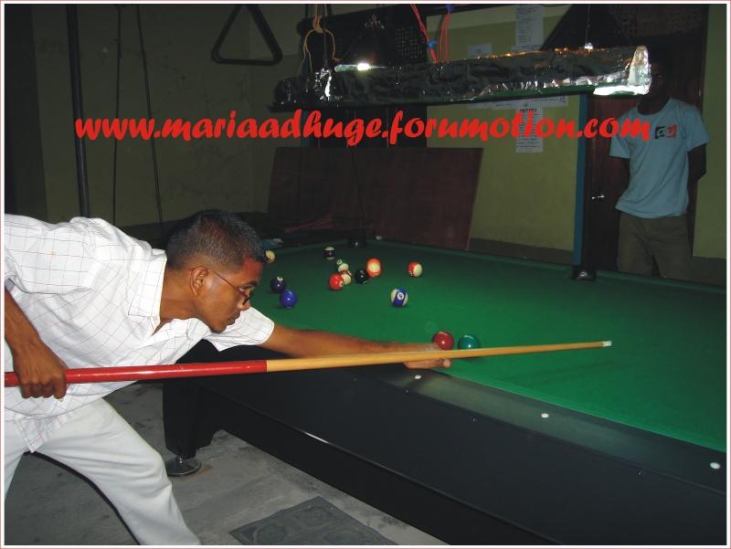 Billiard Tournament updates 0110