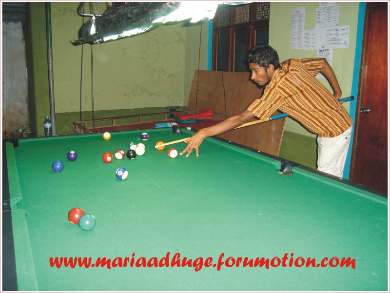 Billiard Tournament updates 0210