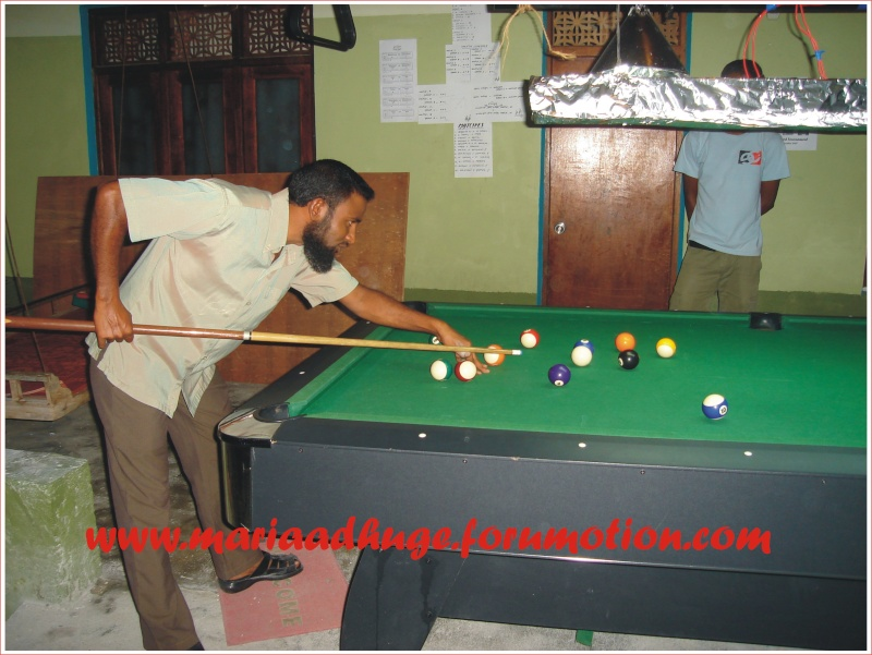 Billiard Tournament updates 0310