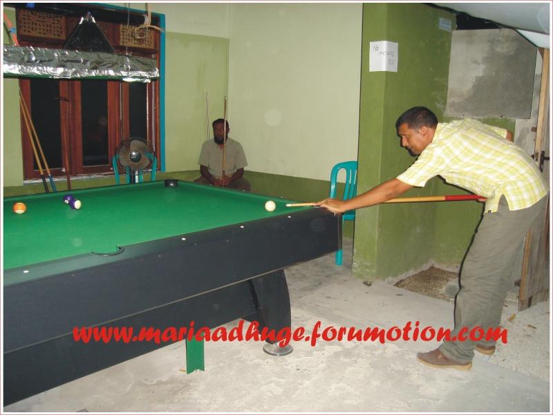 Billiard Tournament updates 0410