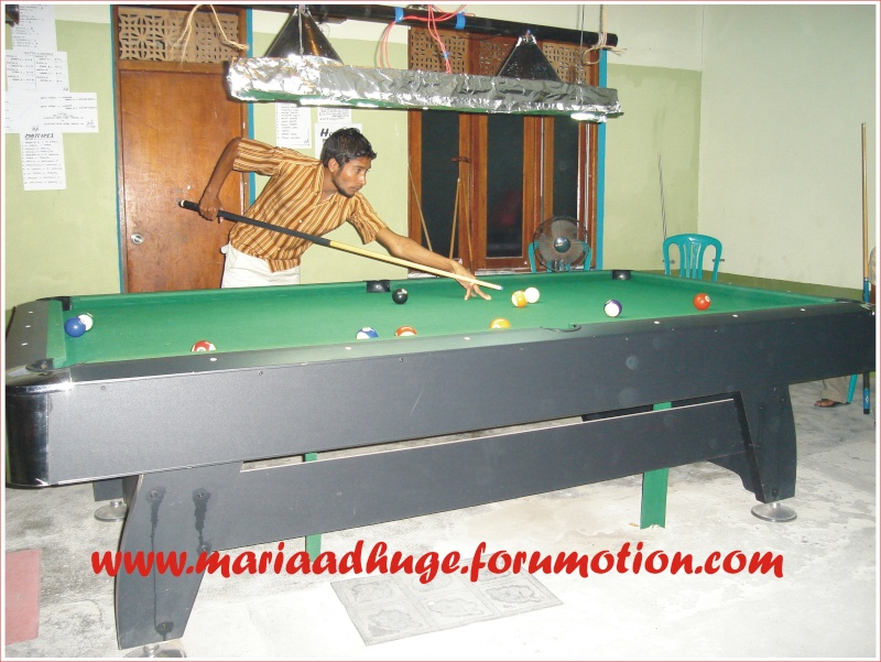 Billiard Tournament updates 0510