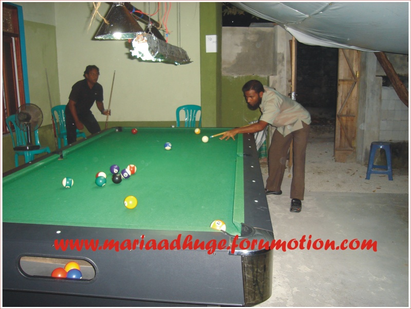 Billiard Tournament updates 0710