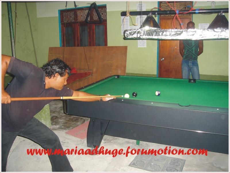 Billiard Tournament updates 0910