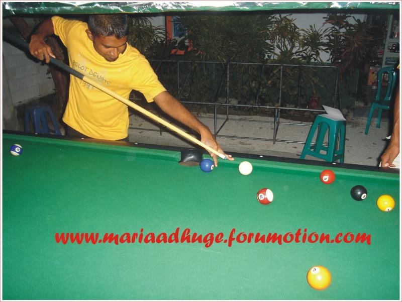 Billiard Tournament updates 1010