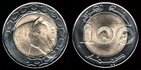 Les pièces de monnaie de l'Algérie indépendante 3-13210