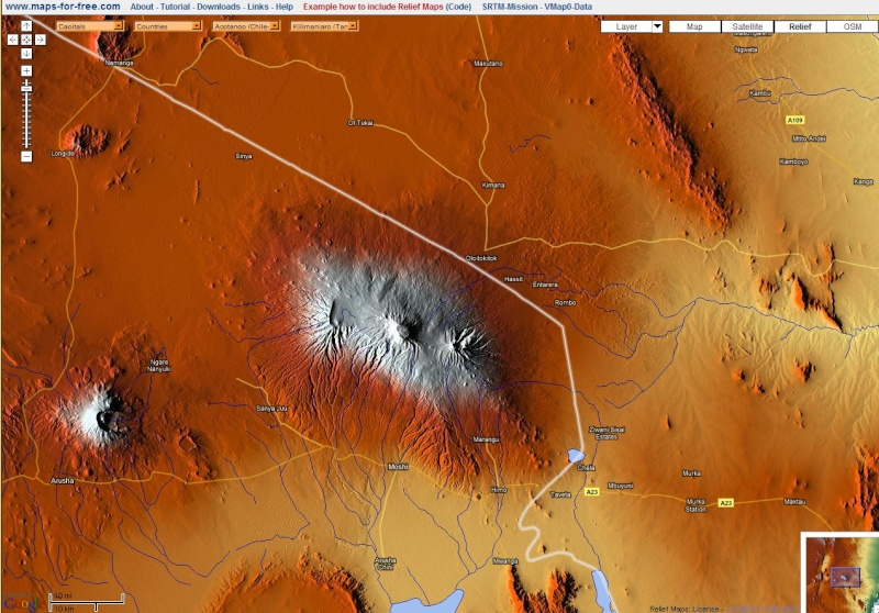 Services de cartographie en ligne : lequel choisir ? Relief11