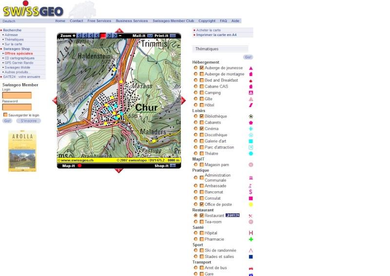 Services de cartographie en ligne : lequel choisir ? Swiss10