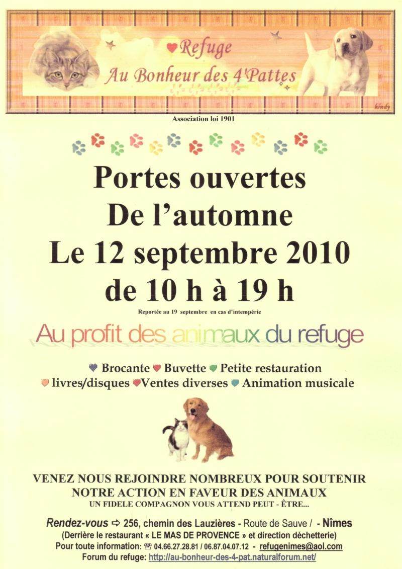 """portes ouvertes au refuge """"au bonheur des 4 pattes """" de Nîmes (30 ) Scan1010"""