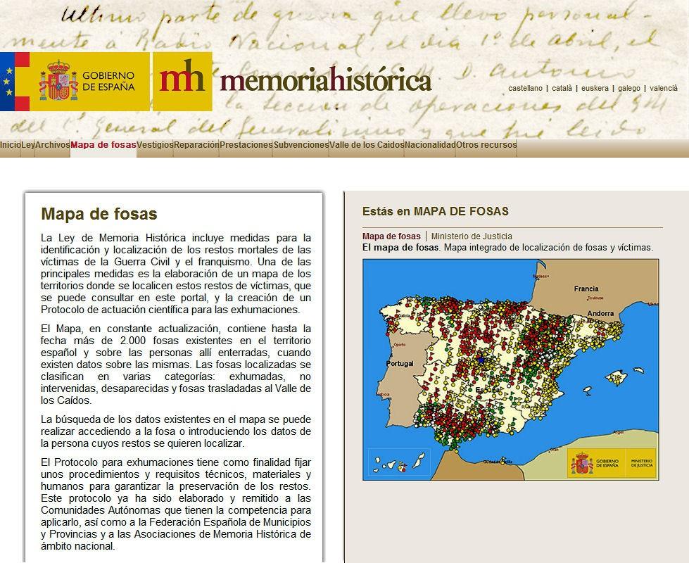 Memoria Histórica : mapa de fosas del franquismo Mapa_d10