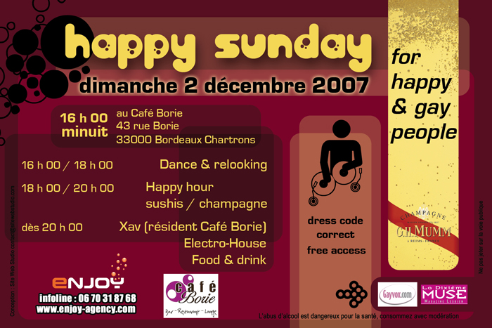 HAPPY SUNDAY N°2 Dimanche 02/12/07 - Encore plus riche! Happy-10