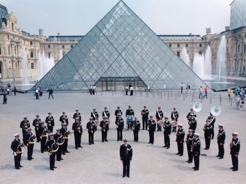 PHOTOS de concert de la BF de la Police Nationale Pyrami10