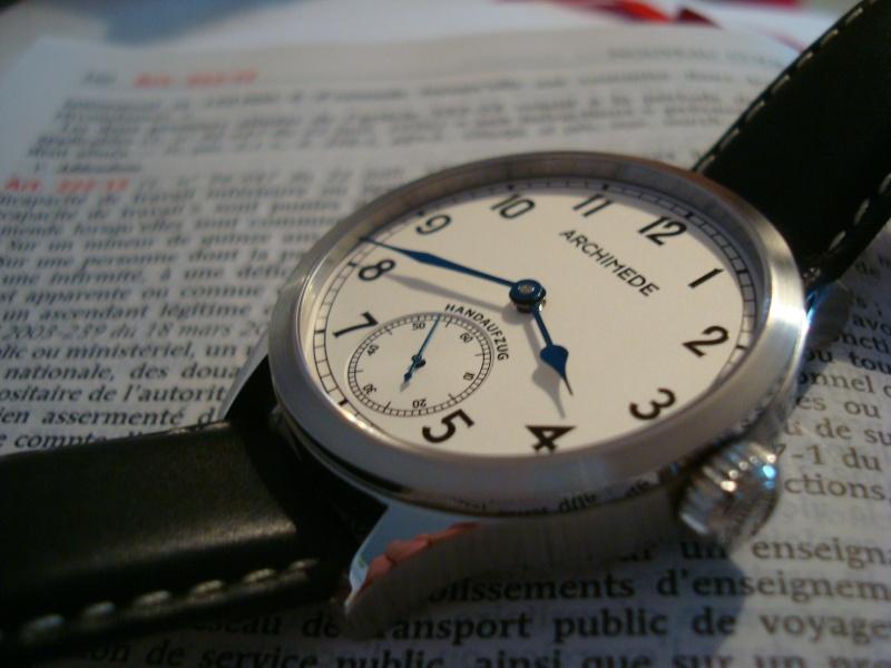 [Revue] Ma première mécanique, une Archimede Deck Watch/Marine Dsc08414