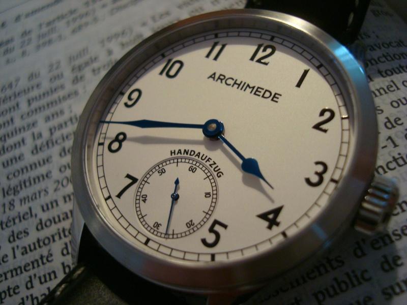 [Revue] Ma première mécanique, une Archimede Deck Watch/Marine Dsc08415