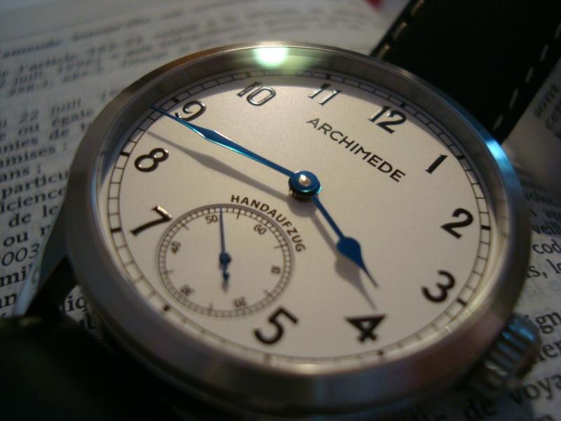 [Revue] Ma première mécanique, une Archimede Deck Watch/Marine Dsc08416