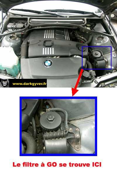 [BMW 320 d E46] Filtre à gasoil 12688810