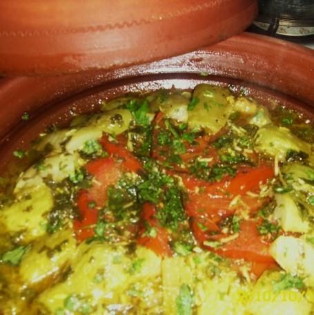 Le Vrai Tajine Marocain au Courge Slaoui ou Slawi (Lauki or Doodhi or White gourd Moroccan Tajine) Varies12