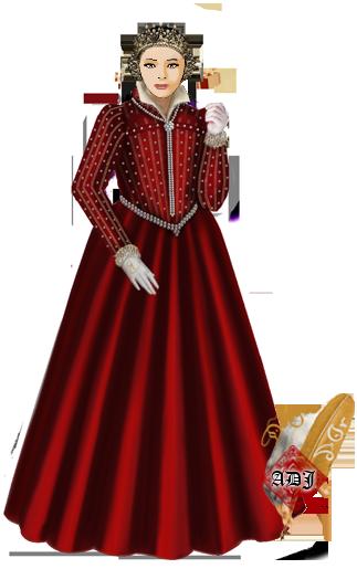 Visite de la nouvelle Grand Maitre de la Garde Robe Robe-b15