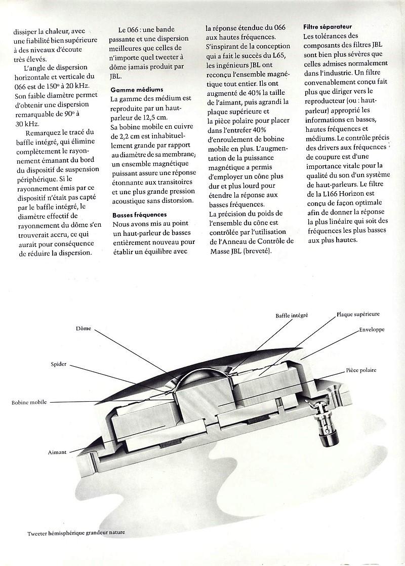 Modèle L166 HORIZON Année 1976/77 Brochu11