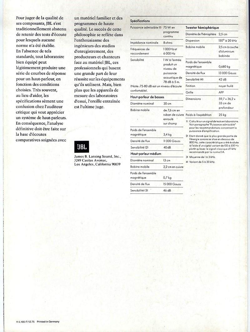 Modèle L166 HORIZON Année 1976/77 Brochu13