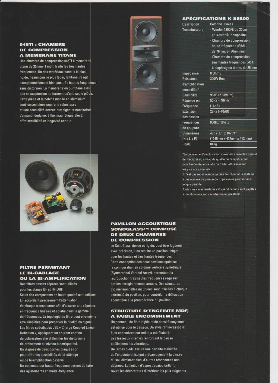 Serie K2 S5800 Numzo154
