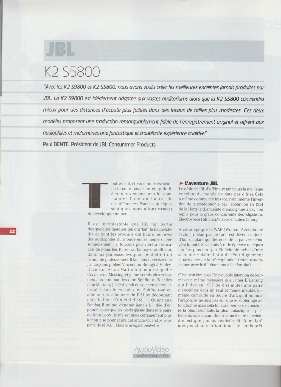 Serie K2 S5800 Numzo161