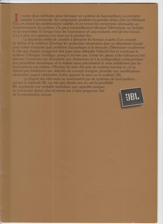 Docs diverses JBL Numzo231