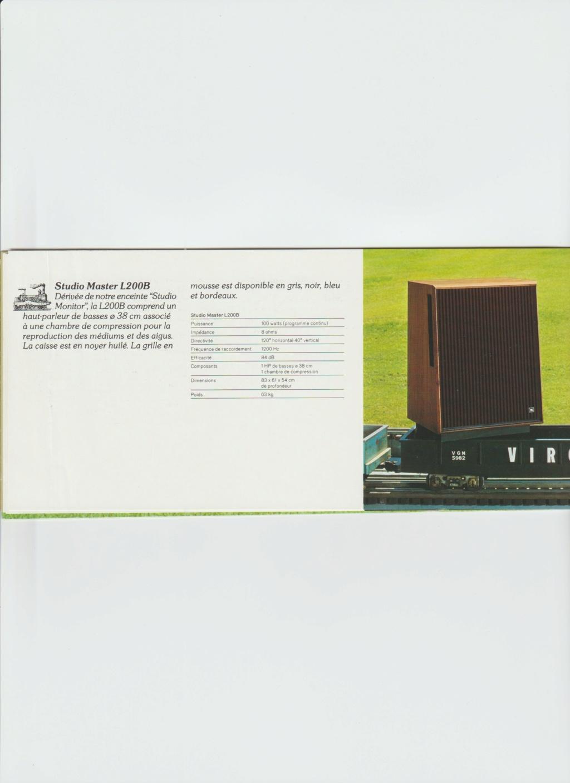Docs diverses JBL Numzo270