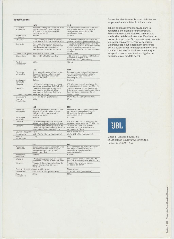 Docs diverses JBL - Page 2 Numzo298