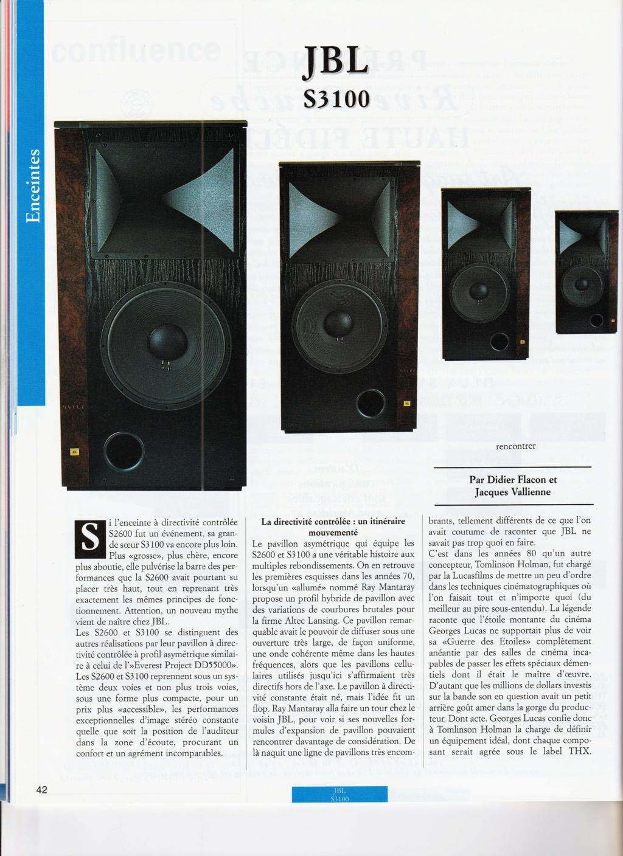 Serie S2600 et S3100 Numzo432