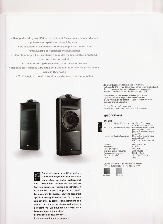 Serie K2 S9800 Numzo475