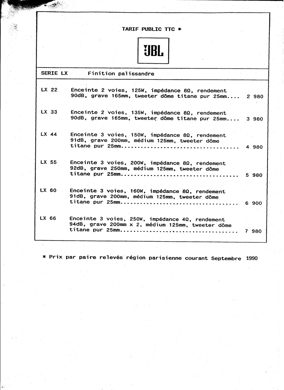 Tarif neuf du vintage pour donner une idée (gamme HIFI et pro de la fin des années 70 au début des années 2000) Numzo512