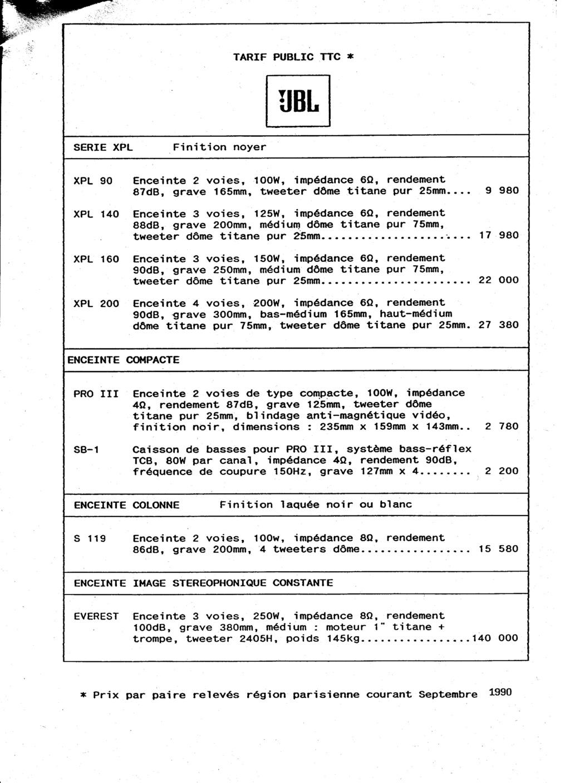 Tarif neuf du vintage pour donner une idée (gamme HIFI et pro de la fin des années 70 au début des années 2000) Numzo513