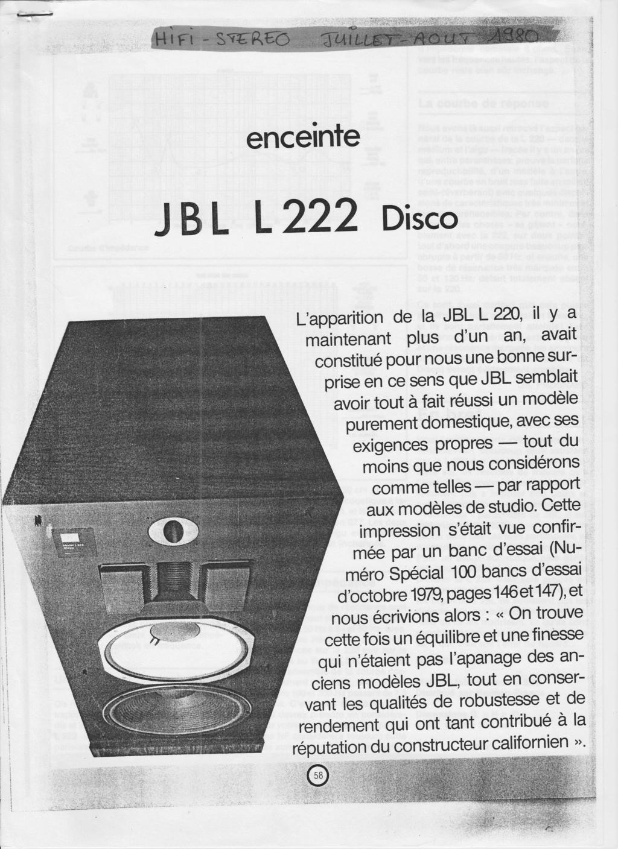 Modèle L222 Année 1980 Numzo542