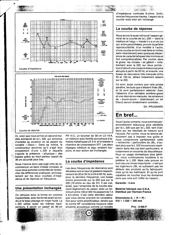 Modèle L222 Année 1980 Numzo543