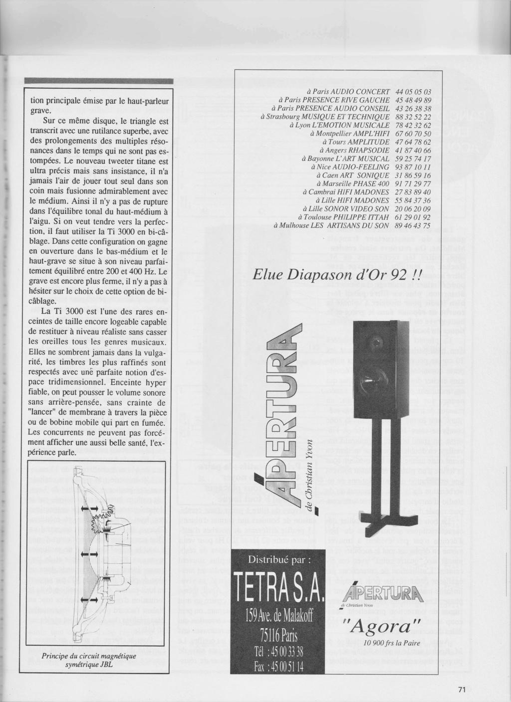 Série Ti3000 Numzo593
