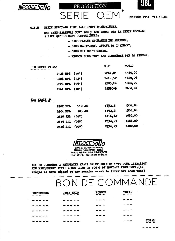 Tarif neuf du vintage pour donner une idée (gamme HIFI et pro de la fin des années 70 au début des années 2000) Numzo686