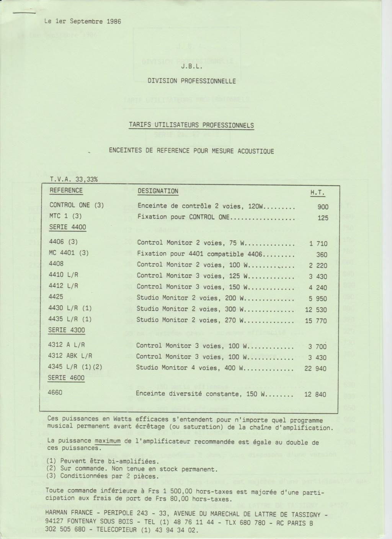 Tarif neuf du vintage pour donner une idée (gamme HIFI et pro de la fin des années 70 au début des années 2000) Numzo744