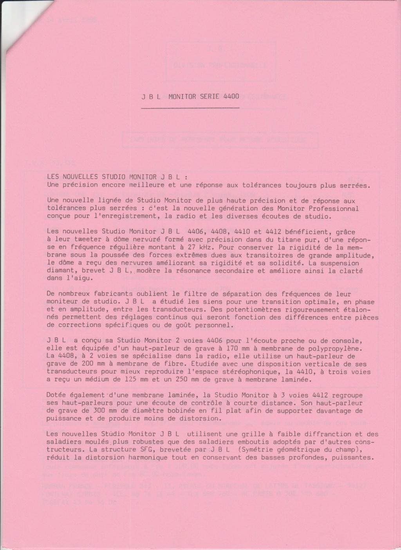 Tarif neuf du vintage pour donner une idée (gamme HIFI et pro de la fin des années 70 au début des années 2000) Numzo752