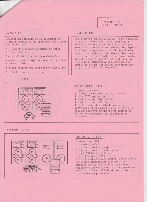 Tarif neuf du vintage pour donner une idée (gamme HIFI et pro de la fin des années 70 au début des années 2000) Numzo766