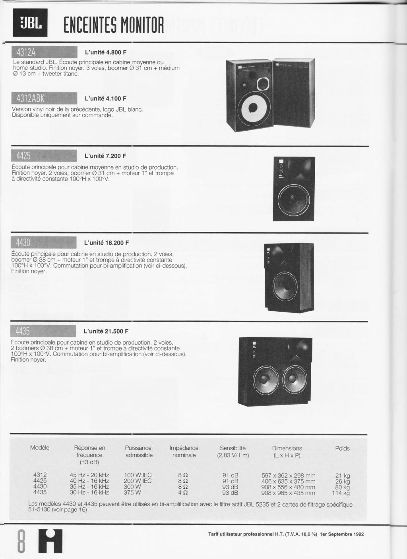 Docs diverses JBL - Page 2 Numzo830